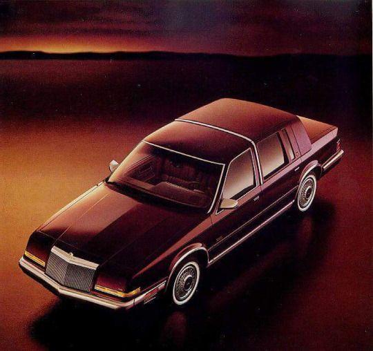 Cool Car Photos 1990 1993 Chrysler Imperial Chrysler Imperial