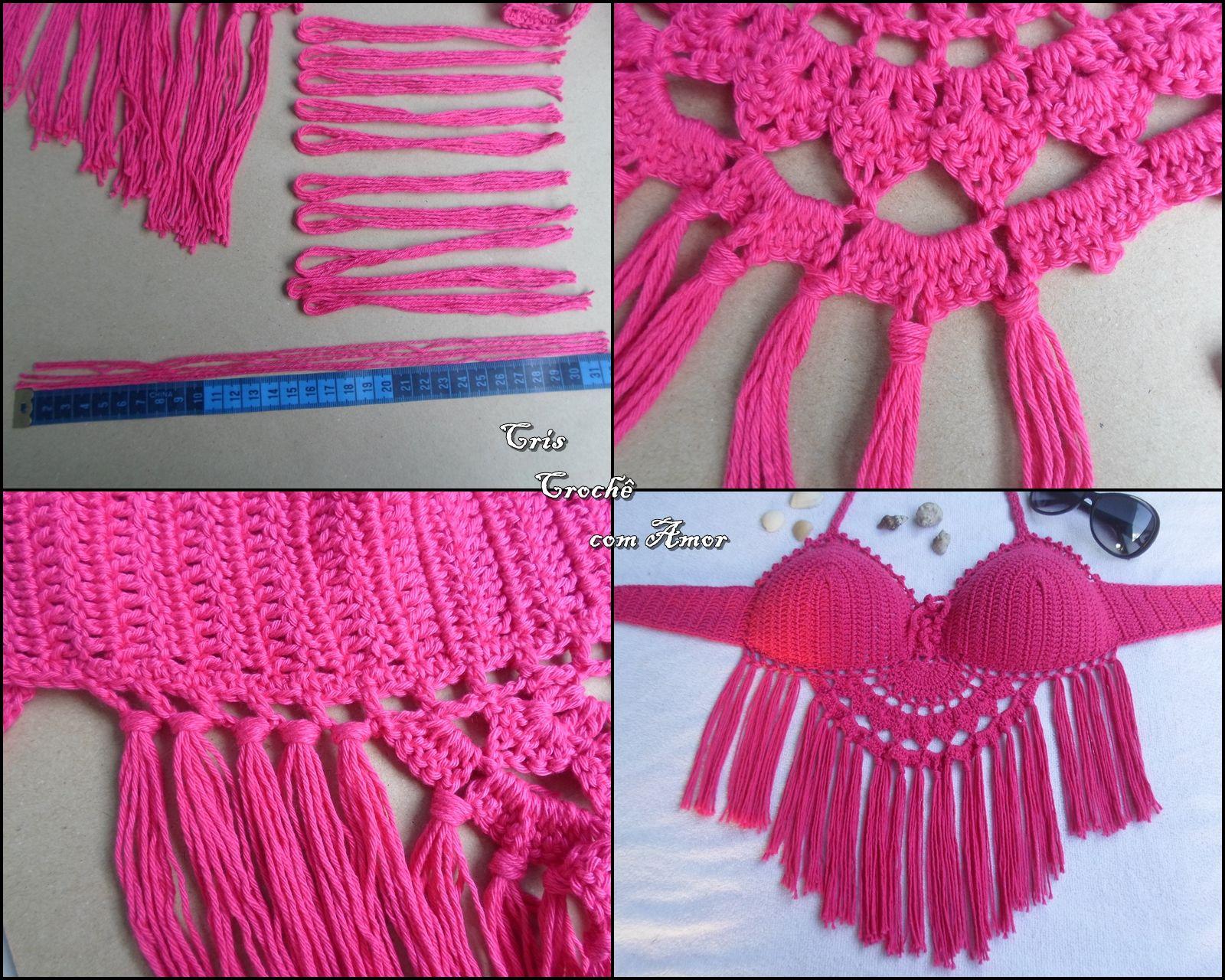 Pin von Hiền Thục auf Bikini Crochet | Pinterest | Bikini