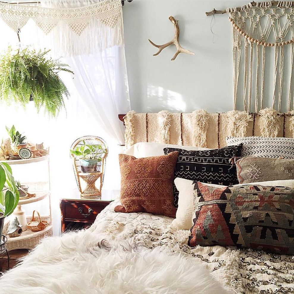 Cool 21 Lovely And Cozy Boho Bedroom Style Homedecort 2017 08