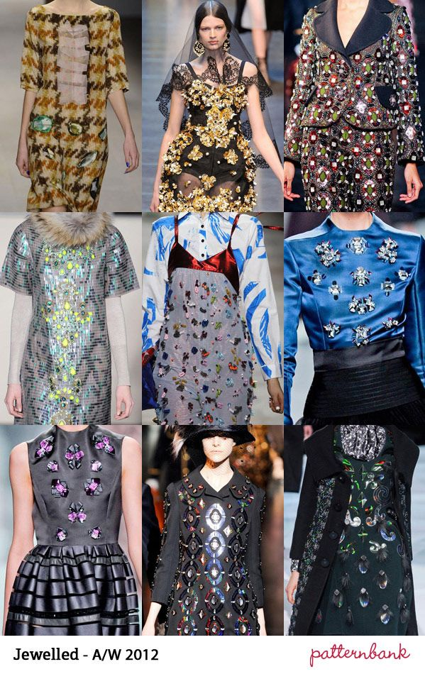 Catwalk Print Trends   Autumn/Winter 2012 Part 2 | trend forecasts catwalks