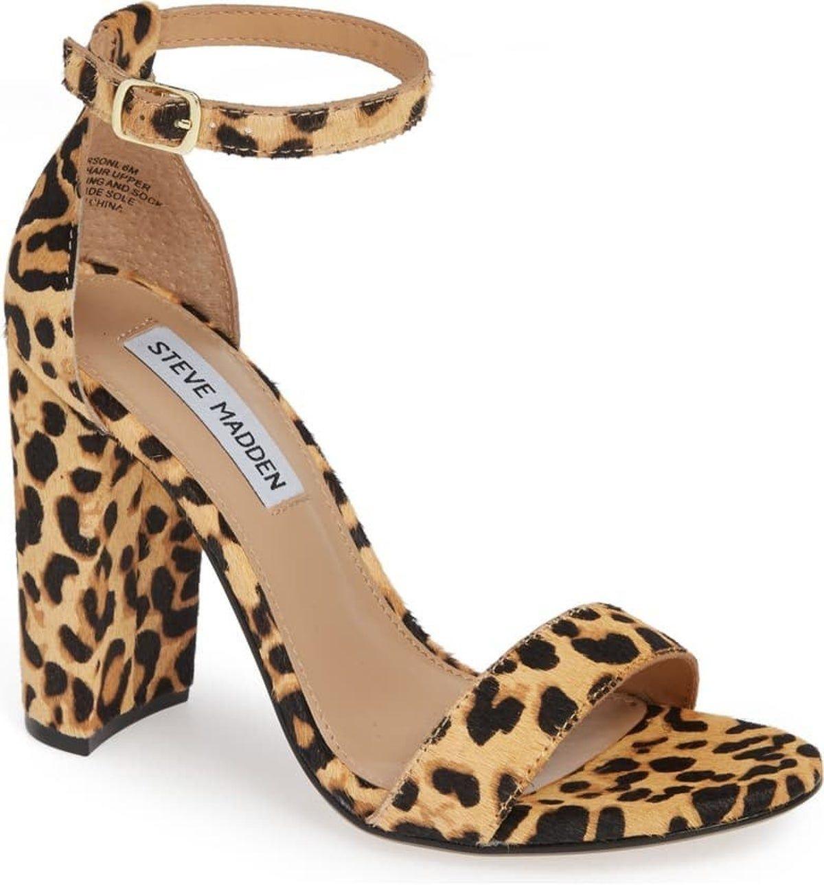 Steve Madden Carrson Leopard Heels in