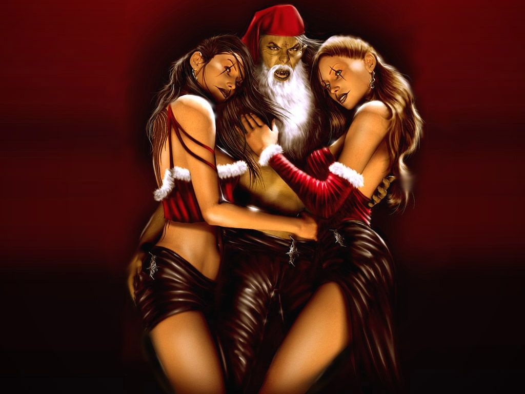Adult santa claus stripper video has analogue?