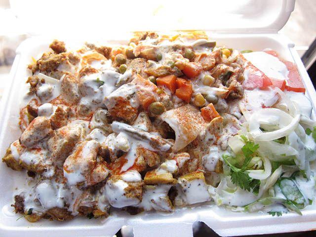 02 Lamb And Chicken Over Rice Gyro Press Halal Good Eats