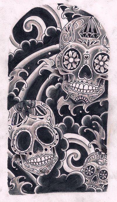 Pin Von Dirk Weirich Auf Totenmaske Mexikanische 15