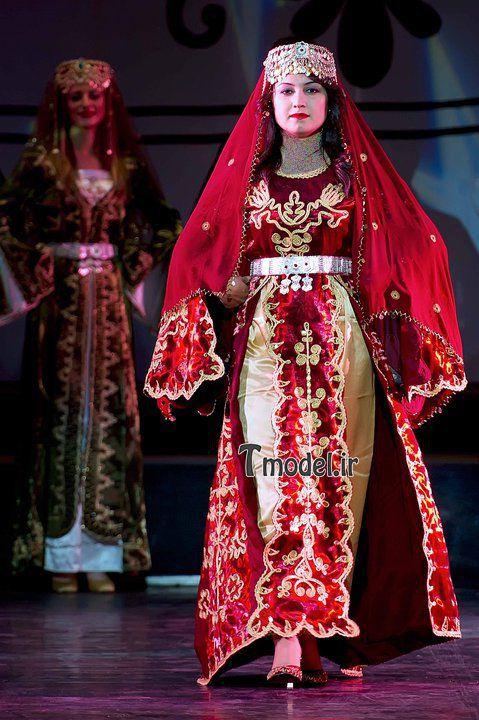 Azerbaijani Women S National Dress Moda Stilleri Kadin Kiyafetleri Kiyafet