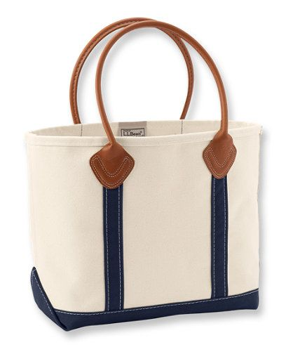 Leather Handle Boat and Tote II  Tote Bags  53ce0966028cb