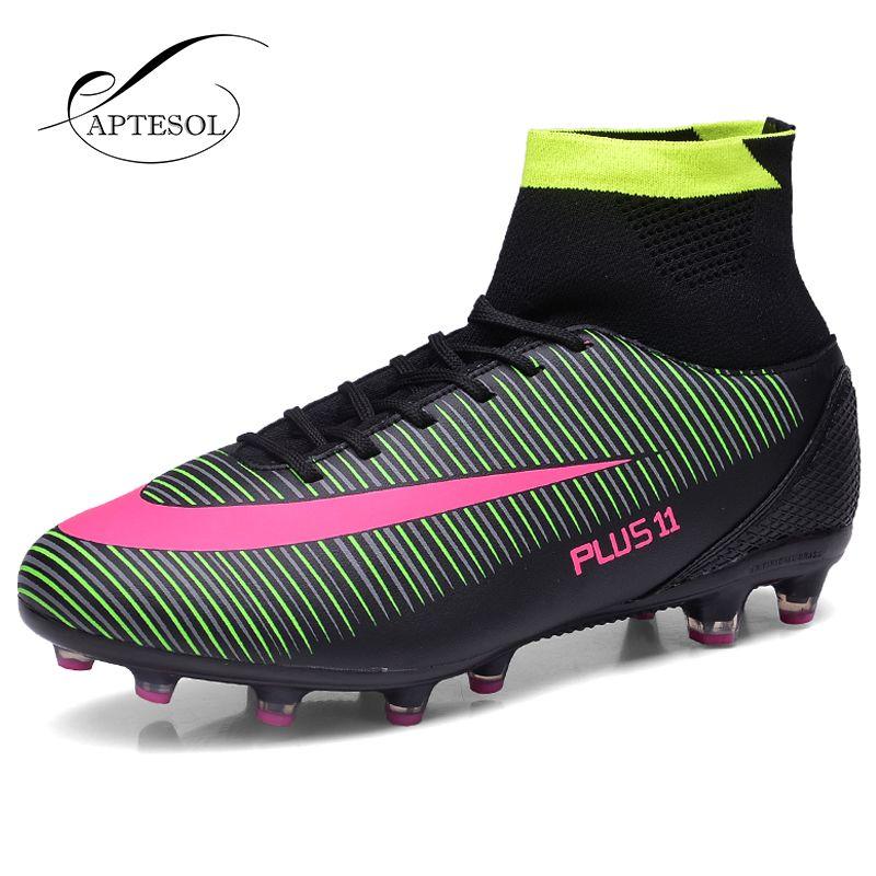APTESOL High Ankle FG Football Shoes