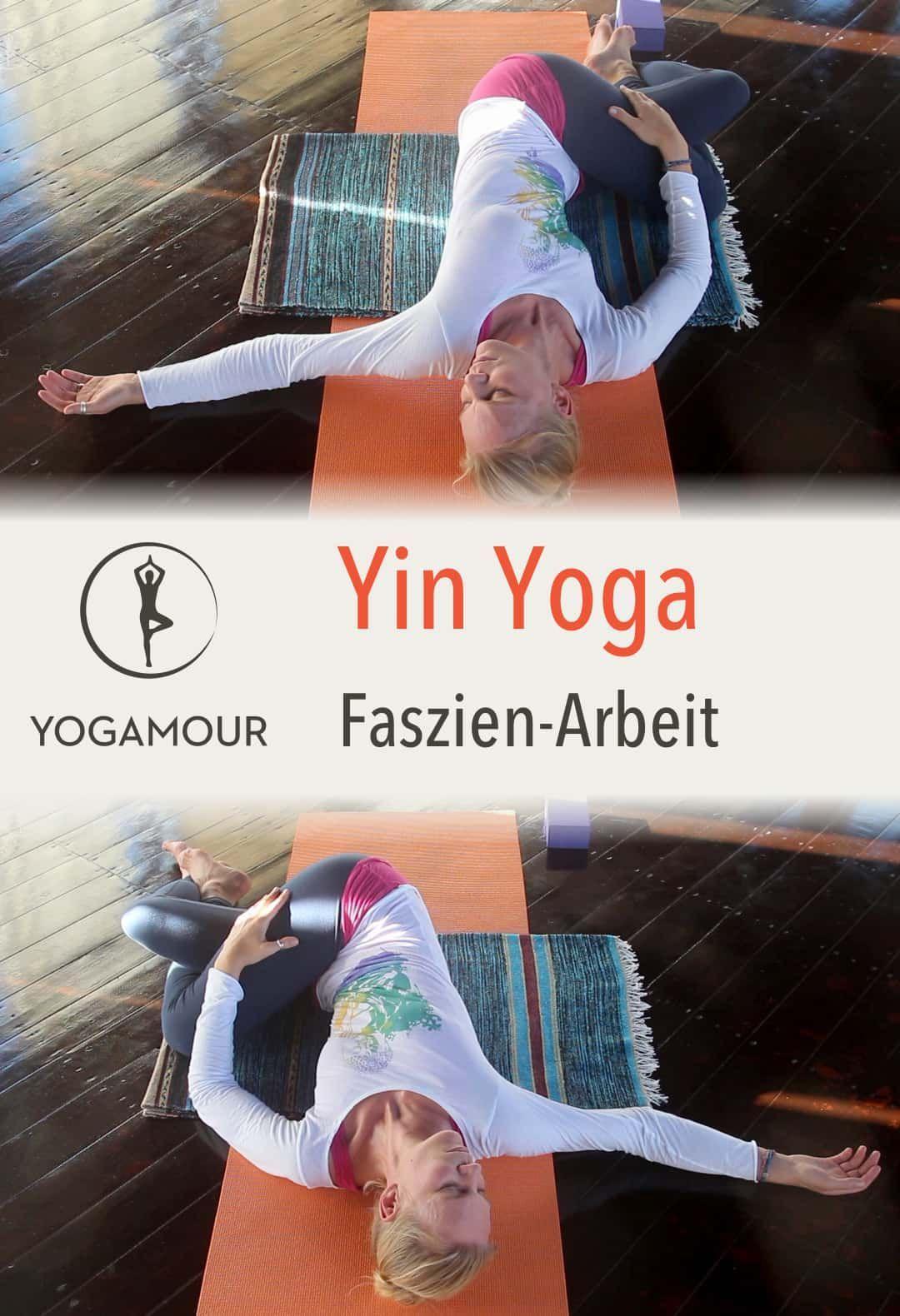 Faszien dehnen, Muskeln entspannen und tief eintauchen mit sanften Yin Yoga asan... -  Fitness train...