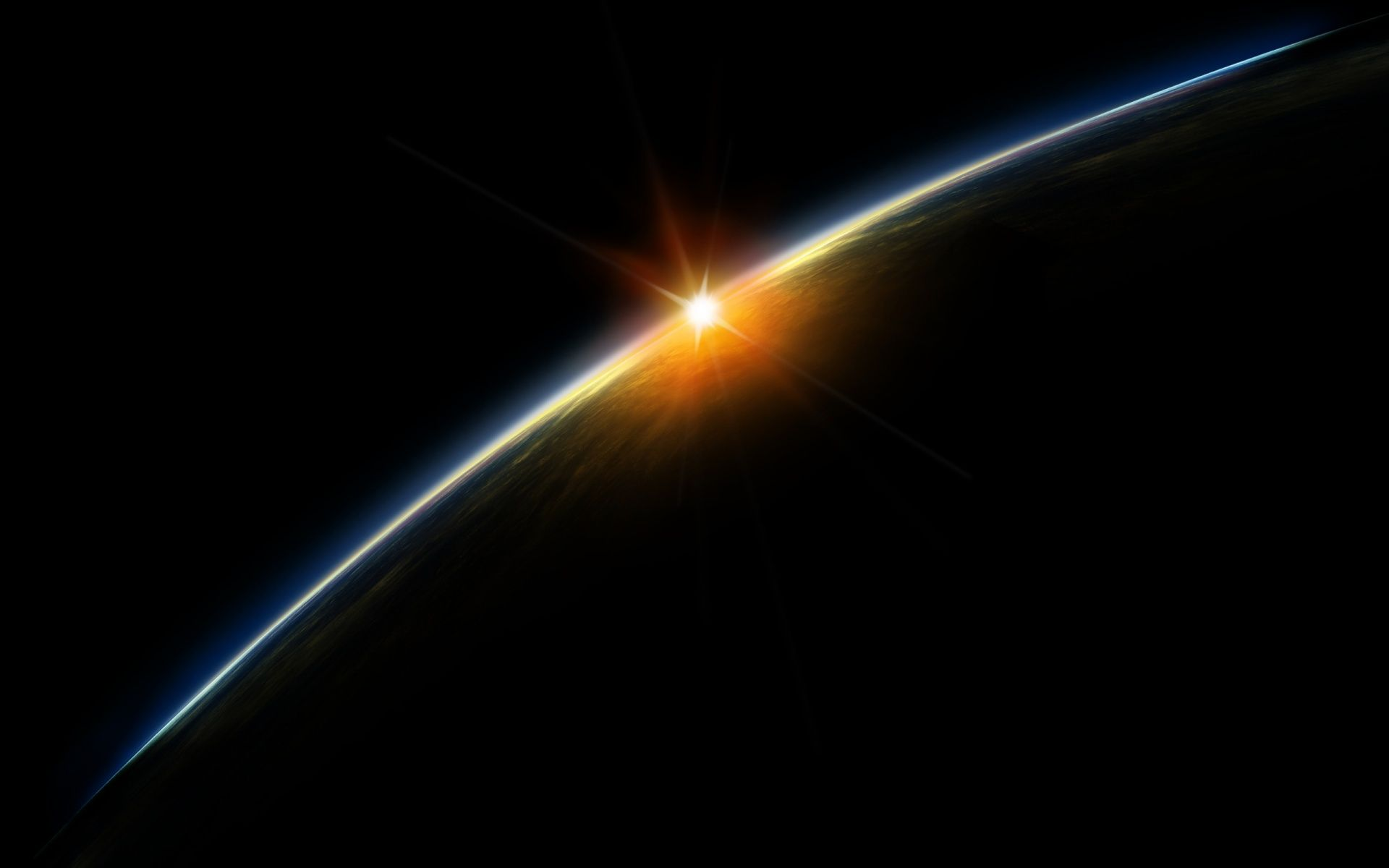 Planet Earth From Space Wallpaper Widescreen