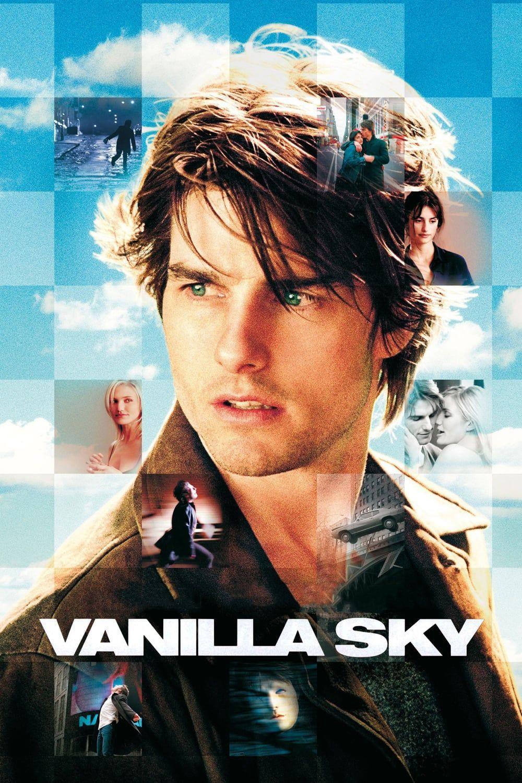 Theatrical Poster Art For Vanilla Sky 2001 Vanilla Sky Full Movies Online Free Free Movies Online