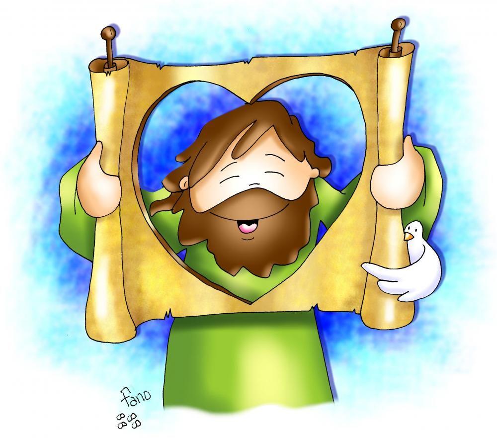 Dibujos De Fano En Color Diocesis De Malaga Portal De La Iglesia Catolica De Malaga Jesus Cartoon Cute Art Fabric Art