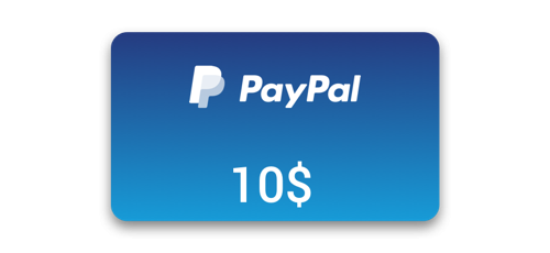 get free 10 paypal gift code with this free paypal gift card
