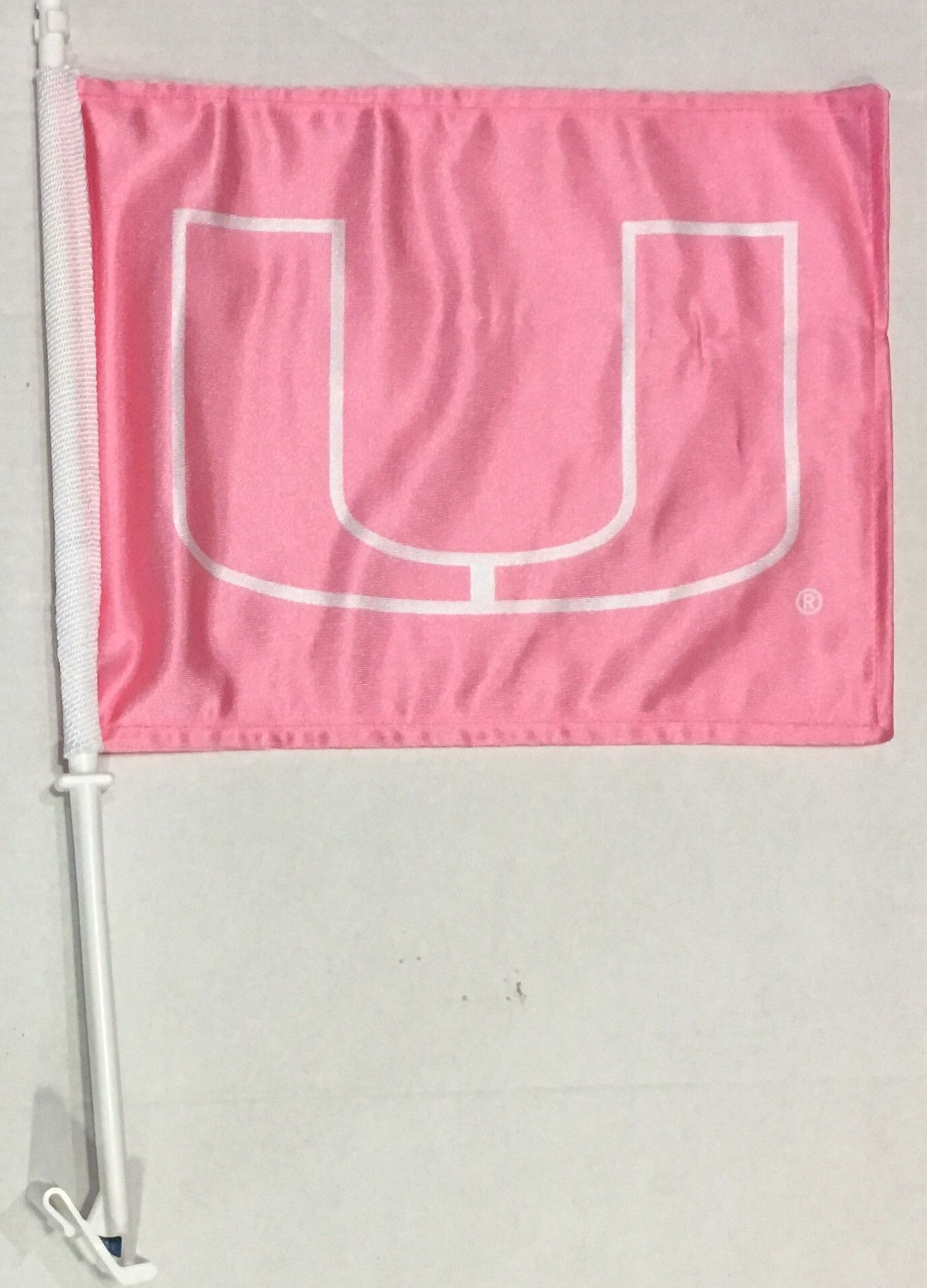 Miami Hurricanes Car Flag Pink U Hurricane Car Miami Hurricanes Car Flags