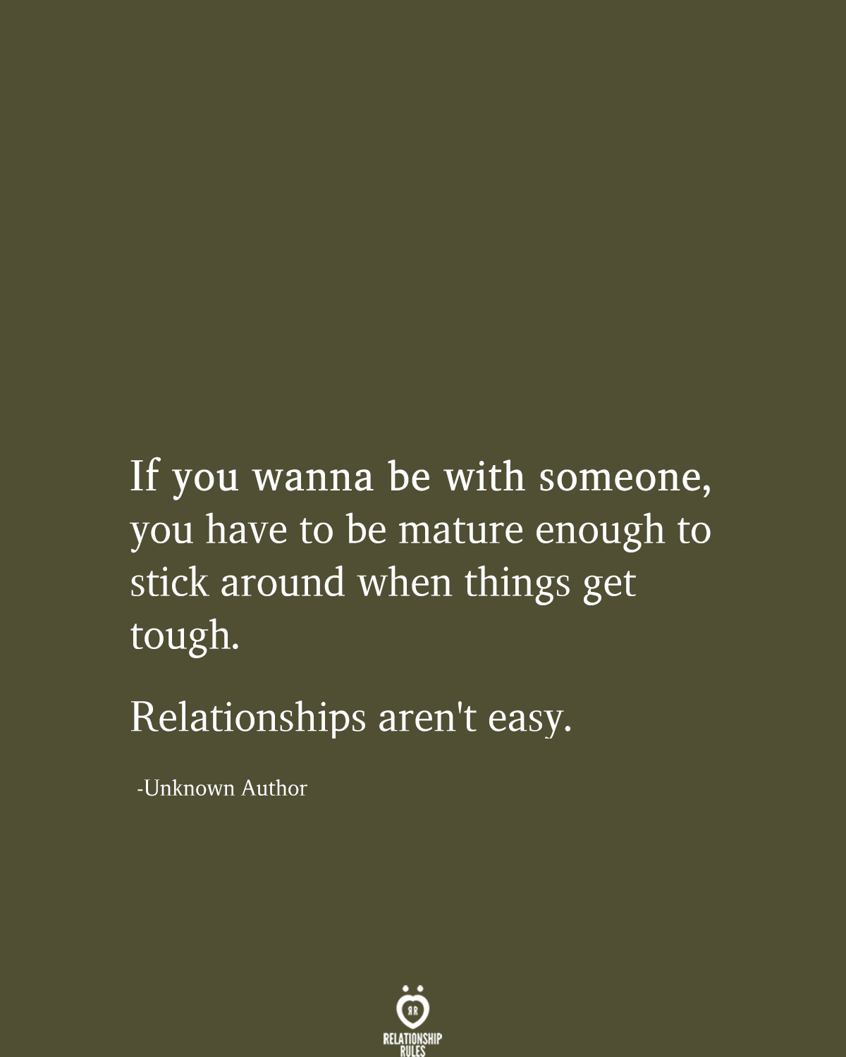 Relationship Quotes When Times Are Tough