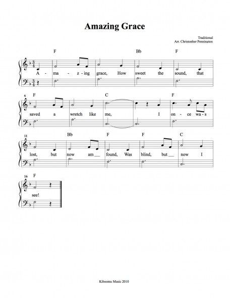 Amazing Grace Free Lead Sheet With Images Lead Sheet Amazing