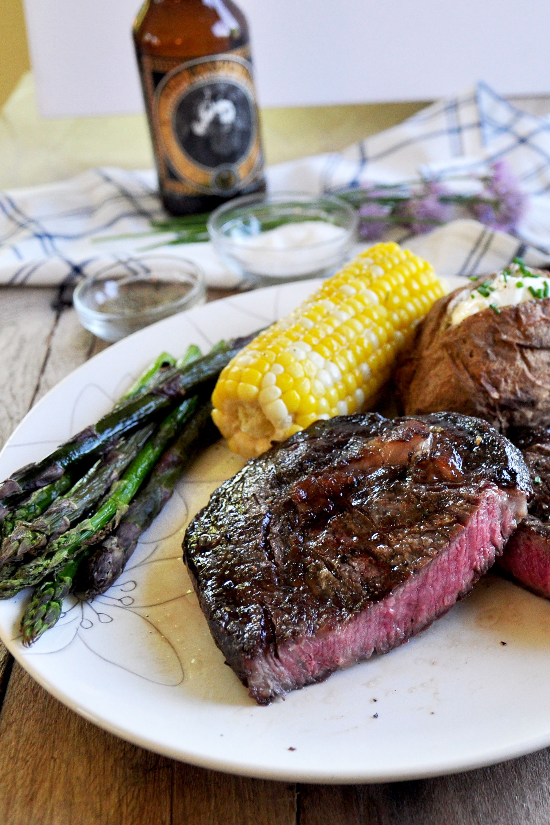 What Better Way To Surprise Dad Than With An Awesome Steak Get The Low Down On Making A Great St How To Grill Steak Grilled Meat Recipes Grilled Steak Recipes
