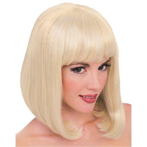 Amazon Forum Novelties Womens Vibe Wig Blonde One Size Clothing