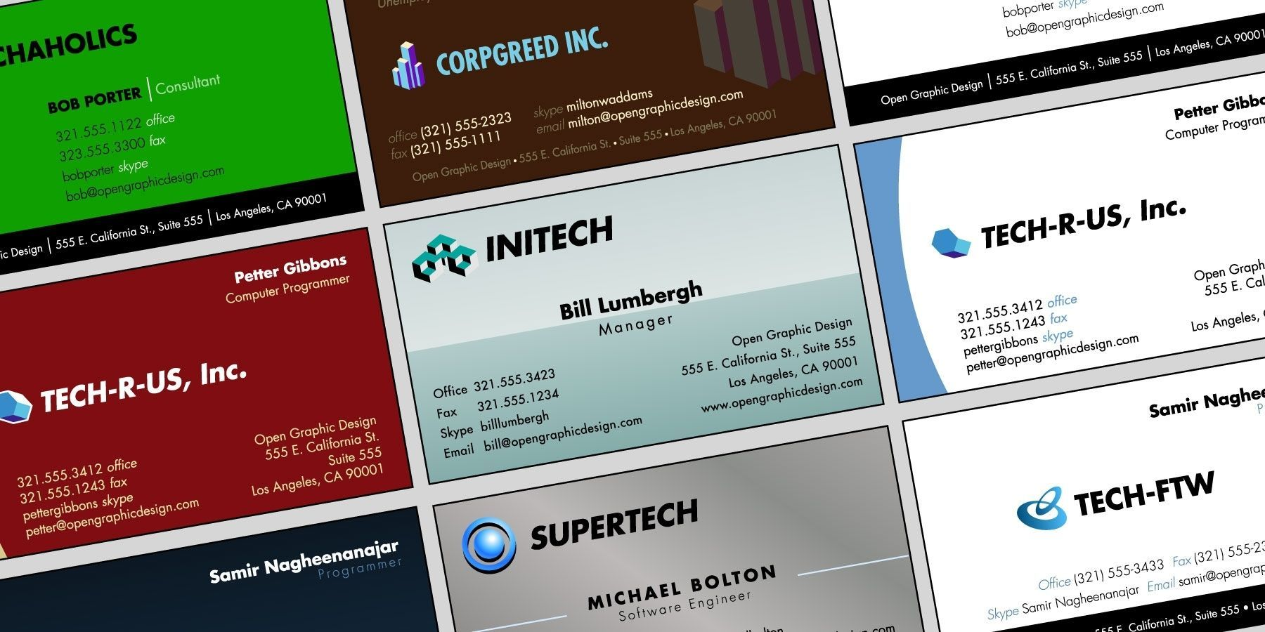 Make Your Custom Blank Business Card Template Libreoffice Design