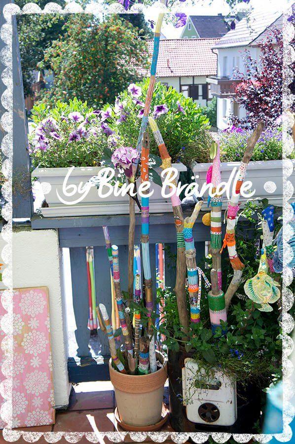 Garten g rten gartenideen und drau en - Gartendeko mit kindern basteln ...