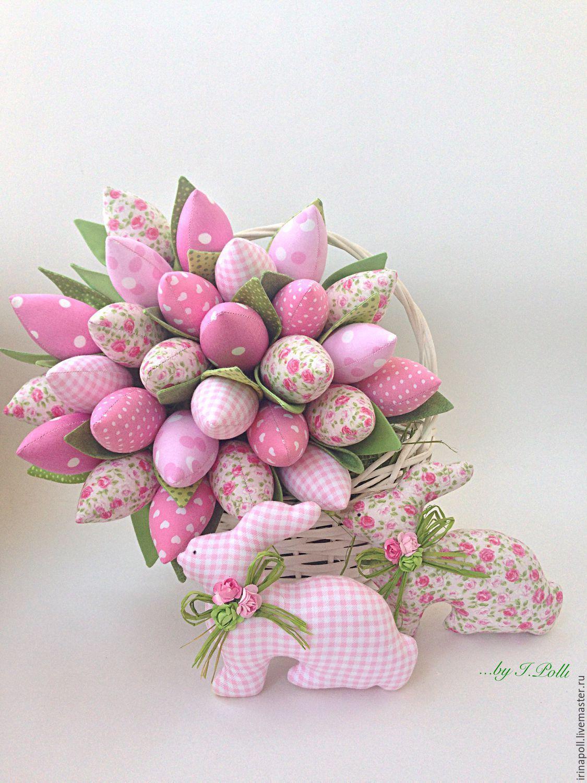Тильда мания букет тюльпанов, роз гортензий