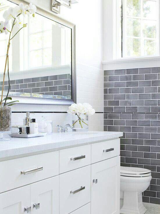 Nice and clean. Bathroom design