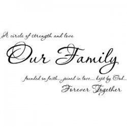 Familly Quotes | Circles, Love my family and For always