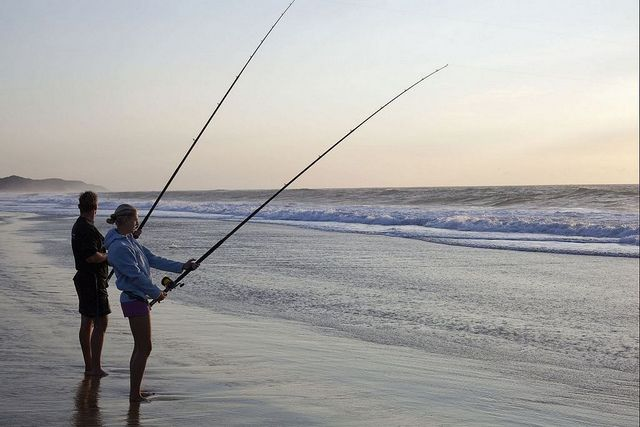 Fishing at Sunset, KwaZulu Natal by South African Tourism, via Flickr