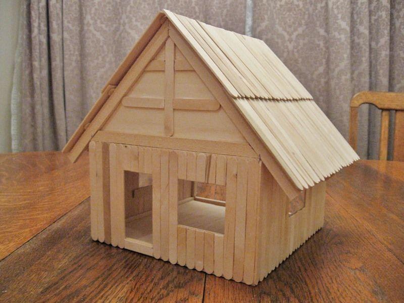 Handmade Dollhouse Cardboard Dollhouse Easy Dollhouse Kid Crafts
