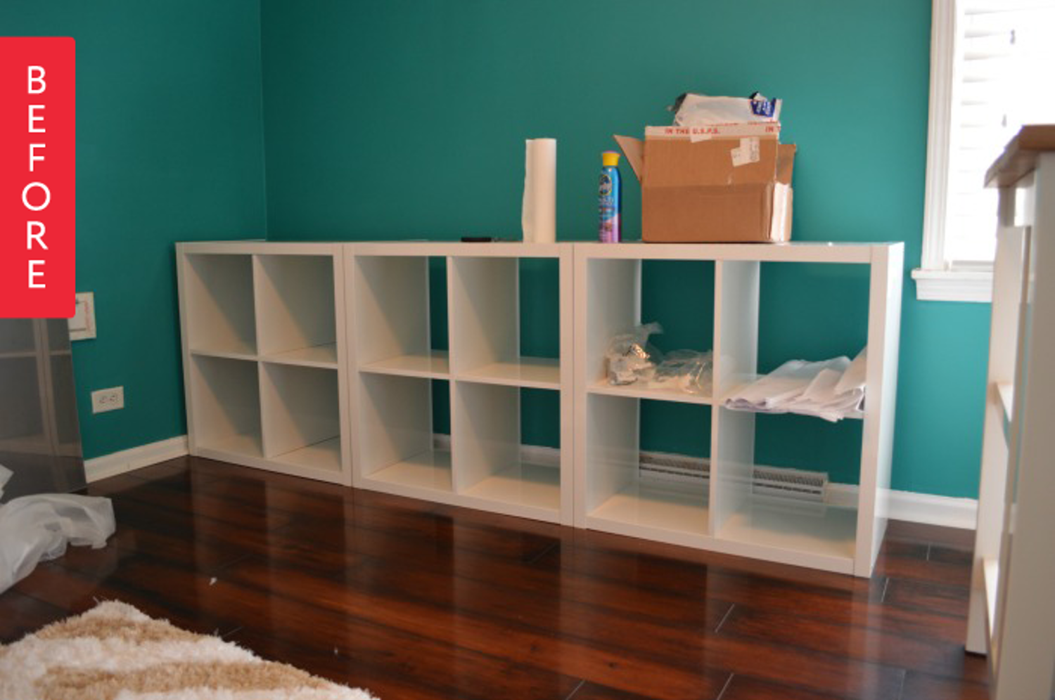 Credenza Ikea Stornas : Before & after: ikea kallax to modular credenza diy pinterest