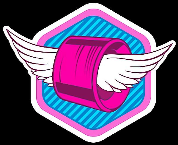 Soy Luna Logo Png 610x508 Soy Luna Logo Soy Luna Roller Skate Birthday Party