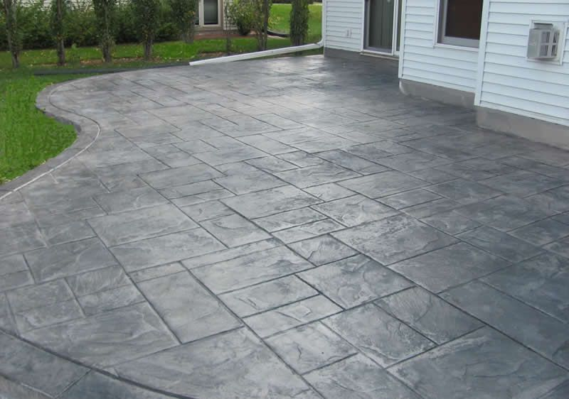 concrete patios custom and stamped concrete buchheit