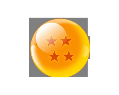 Esfera Del Dragon De Cuatro Estrellas Dragones Esferas Tatuajes Molones