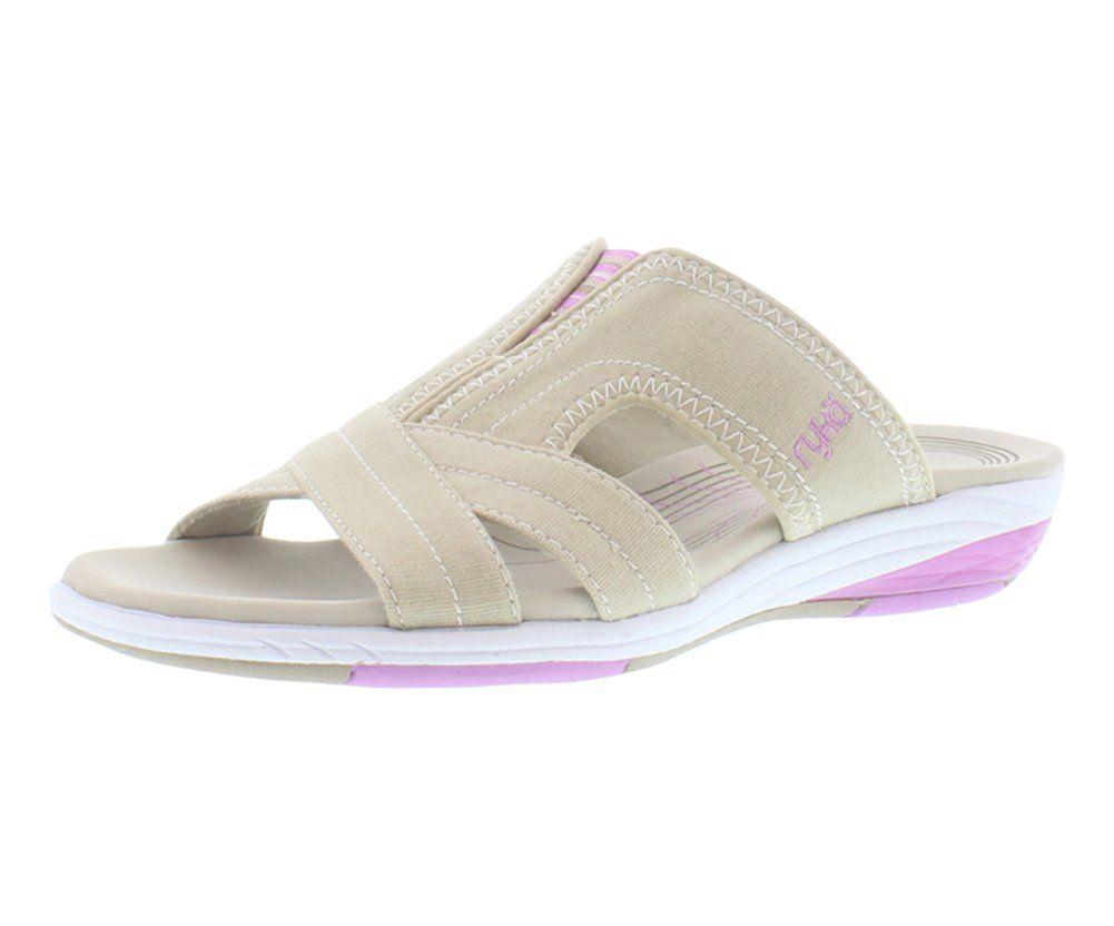 Ryka sandals shoes - Ryka Tensile Slide Sandals Slides Wide Women S Shoes Size 11 Ryka Womens Sandals
