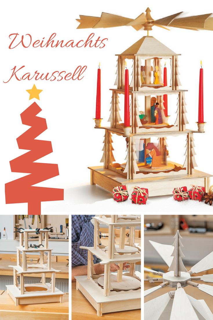 Weihnachts-Karussell | Weihnachtsideen | Pinterest ...