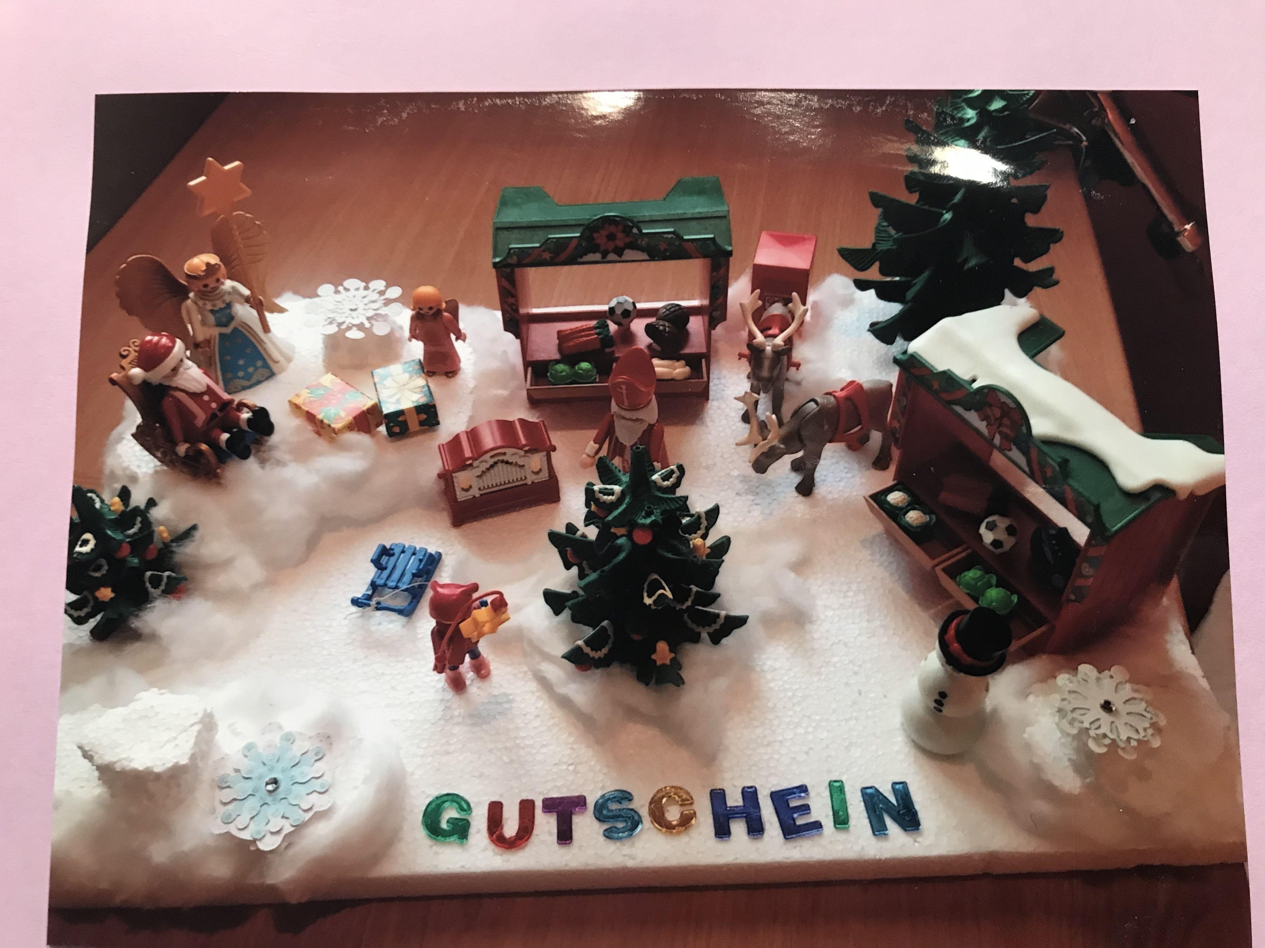 Besuch Auf Dem Weihnachtsmarkt.Gutschein Für Einen Besuch Auf Dem Weihnachtsmarkt Eigene