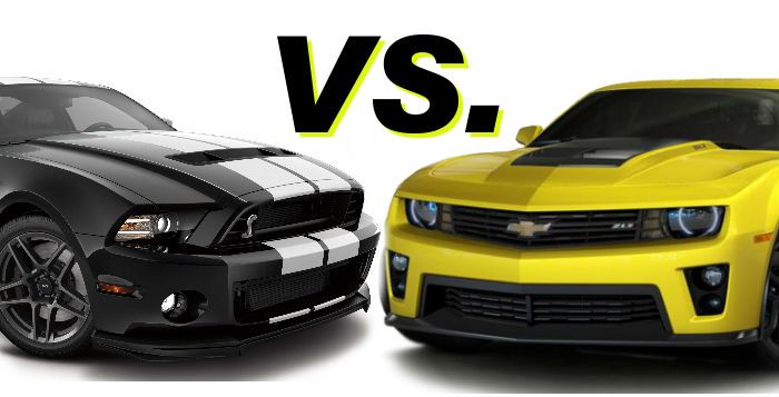 2016 ford mustang gt500 vs 2016 chevy camaro zl1