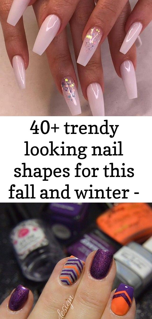40+ trendy looking nail shapes for this fall and winter – page 27 of 44 2