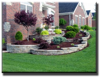 Can Use Some Of These Ideas For Hill At Cabin Curb Appeal And Tips For Goldendale Real Estate Landscaping Around House Home Landscaping Easy Landscaping