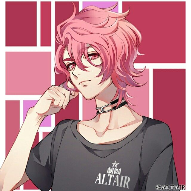 Kasumi Sakuya Pink Hair Anime Anime Drawings Boy Anime Guys