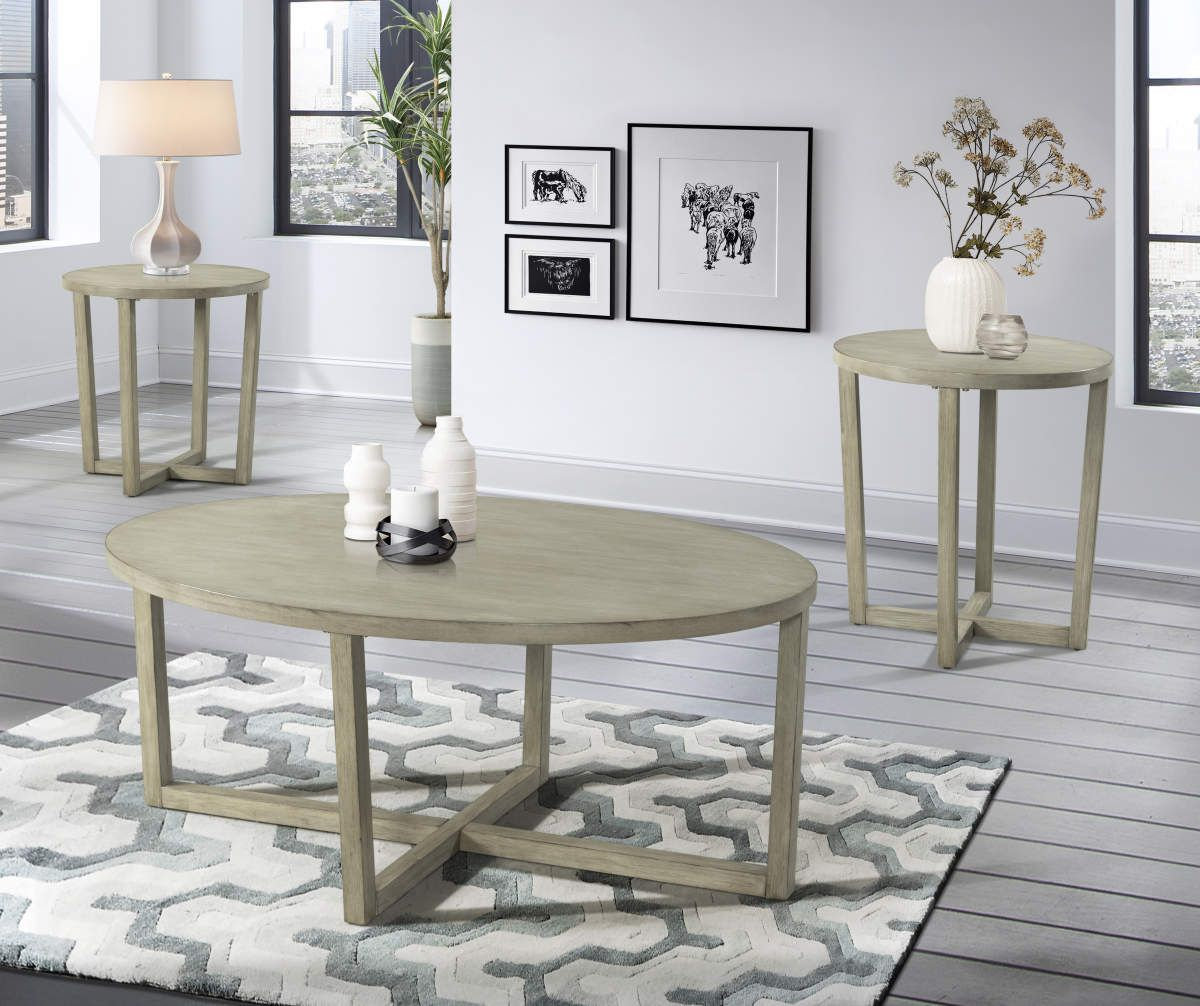 Lane Home Solutions Mushroom Gray Oval 3 Piece Occasional Tables Set Big Lots Coffee Table Coffee Table Setting Round End Tables [ 1006 x 1200 Pixel ]