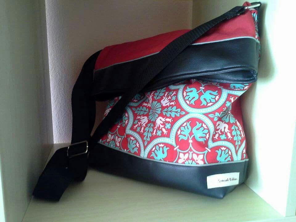 tasche mit berschlag n hen taschen beutel t ten portemonnaies taschen taschen n hen. Black Bedroom Furniture Sets. Home Design Ideas