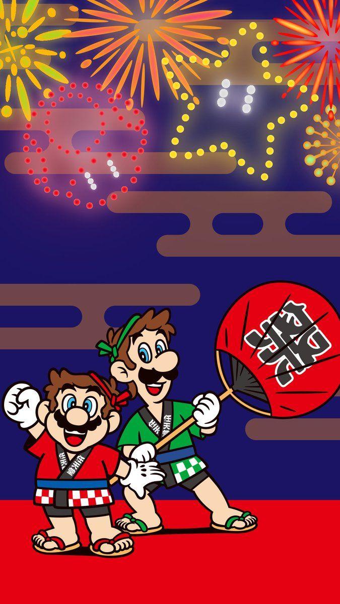 Japanese Nintendo on Super mario art, Mario, luigi