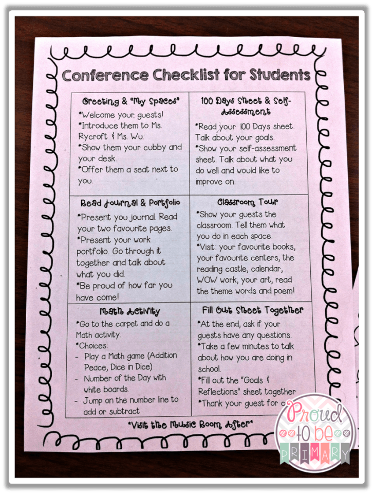Are you a teacher looking for inspirational ideas for preparing your class for student-led conferences? This post shares DIY tips on creating the perfect portfolios that will impress parents and preparing students to showcase children's classroom work. Head there now to download your free printable self-assessment and reflection forms.