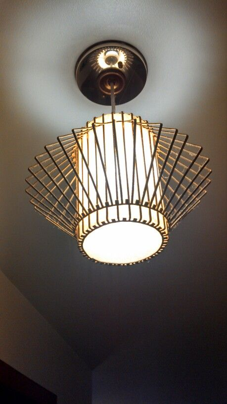 1960s Light Fixture Original In Our 1962 Ranch Style Home