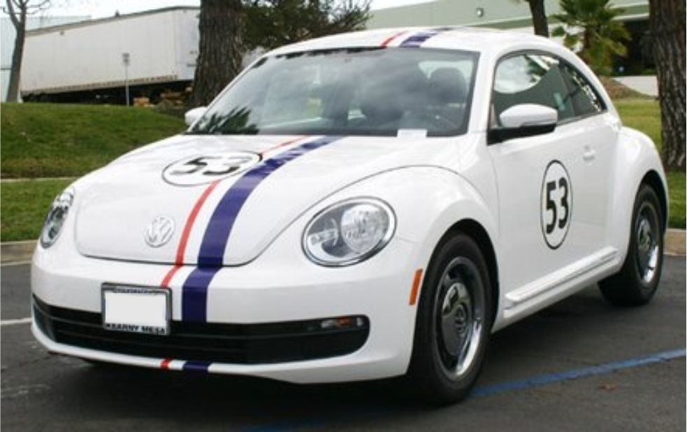 New New Beetle Decorated Like Herbie With Images New Beetle