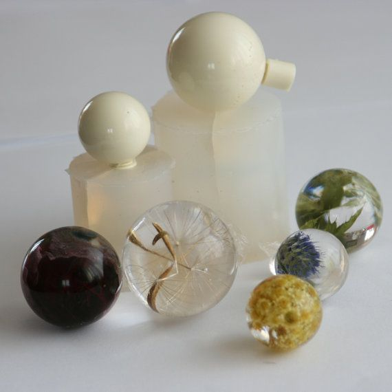 how to make a sphere mold for resin