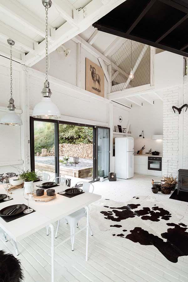 Old barn revamped to elegant yet functional
