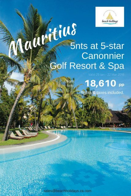 Le Cannonier Mauritius Is Located In The North West Of The Island About 50 Miles From The Airport It Is Mauritius Hotels Best Family Resorts Mauritius Island