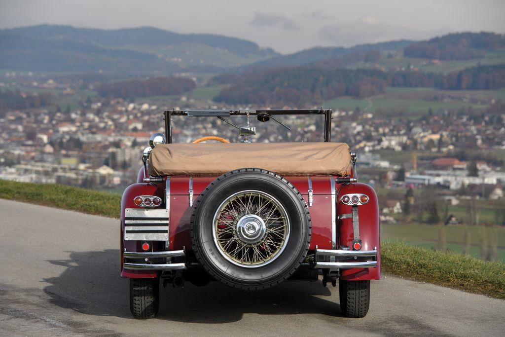 MercedesBenz 15/75 PS Mannheim 370 S SportCabriolet
