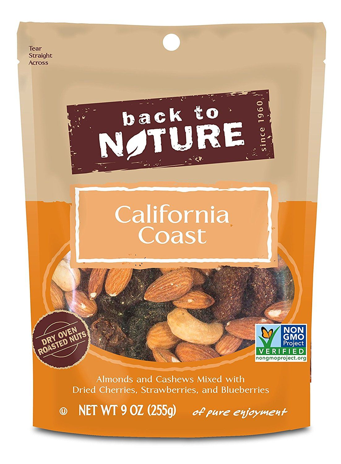 Back to Nature Trail Mix, California Coast, 9 Ounce >>> See it now, it's a great product - Fresh Groceries